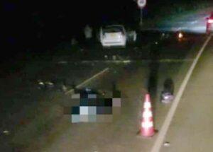 Motociclista falleció en accidente en la variante del Aeropuerto 1