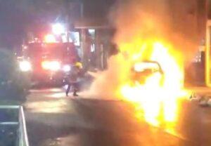 Video: ¿Por qué ardió la camioneta en la Quinta con 13? 1