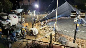 Avanza la construcción del tanque sur del Acueducto Complementario - 1