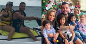 Hijos de Jessi Uribe se divirtiendo con su padrastro 1