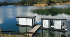 El hotel con cabaña flotante que está de moda en Antioquia 1