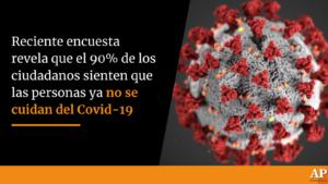 Encuesta revela que el 90% de los colombianos sienten que las personas no se cuida del Covid-19 1