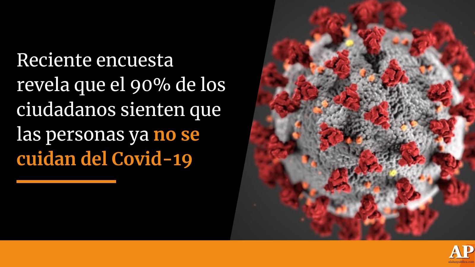 Encuesta revela que el 90% de los colombianos sienten que las personas no se cuida del Covid-19 2