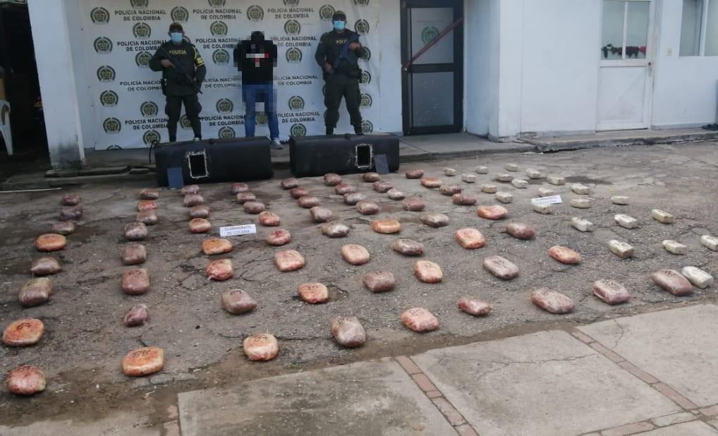 Policía decomisó 151 kilos de base de coca en Tolima 2