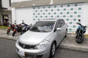 Recuperan seis motocicletas y un automóvil que habían sido robados en Ibagué 1