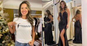 Daniella Álvarez mostró la fachada de su boutique 1