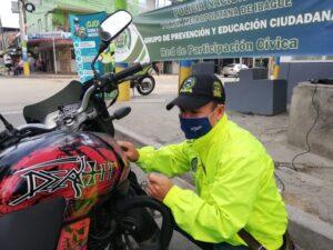 Avanza la campaña contra el hurto de motos en Ibagué 1