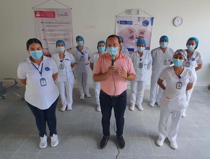 Comenzó vacunación en Mariquita 2