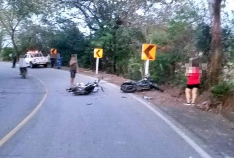Fatal choque de motos dejó cuatro muertos en la vía Guamo 2