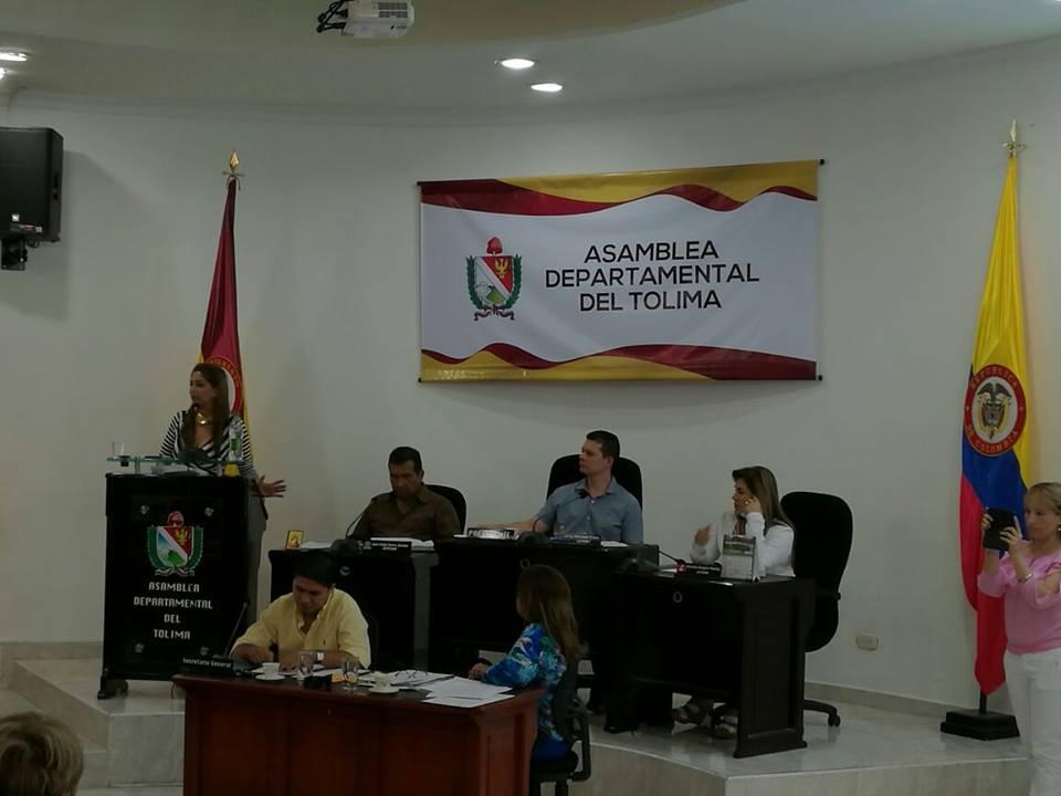 La Asamblea del Tolima se renovará este año 2