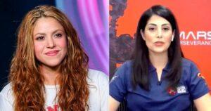 Shakira se emocionó con la historia de Diana Trujillo 1