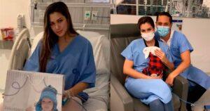 Nanis Ochoa relató sus angustiosos momentos en el hospital 1