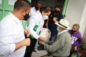Inició la entrega de ayudas humanitarias a afectados por lluvias en el Tolima 1