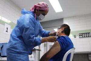 En Ibagué, 1.022 personas se han vacunado contra el COVID-19 1