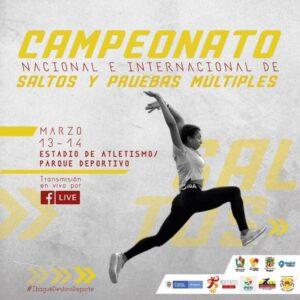 500 atletas de 10 países presentes en el Campeonato Nacional e Internacional de Saltos y Pruebas Múltiples en Ibagué. 1