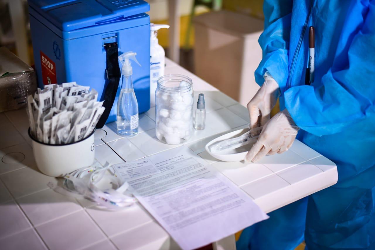 Casi cinco mil vacunas han sido aplicadas en Ibagué 2