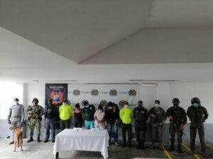 Fueron capturados cuatro personas por tráfico de estupefacientes en el Tolima 1
