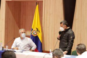 Gobernador Orozco propone al presidente Duque la formación de 300 nuevos patrulleros y patrulleras en el Tolima 1