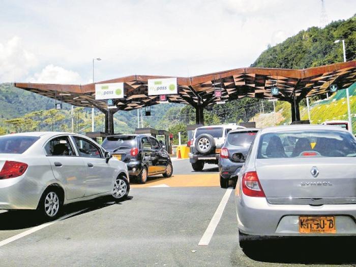 Los 10 peajes más caros de Colombia para carros particulares 2