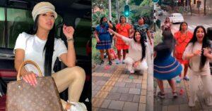 Marcela Reyes puso a indígenas a bailar su guaracha 1