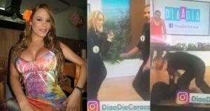 María Patricia recordó su fuerte caída en 'Día a día' 1