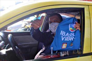 Más de 400 kits de protección fueron entregados al gremio de taxistas por parte de la Administración Municipal 1