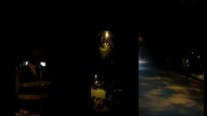 Siguen los retenes en la oscuridad en Ibagué 1