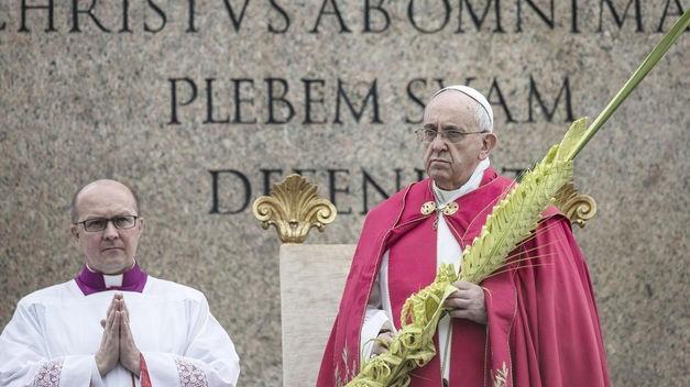 El Papa en el Domingo de Ramos