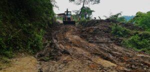Autoridades recuperaron la vía hacia la vereda Ambalá parte alta 1