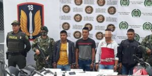 Condenados tres integrantes del Grupo Armado Residual de la Dagoberto Ramos 1