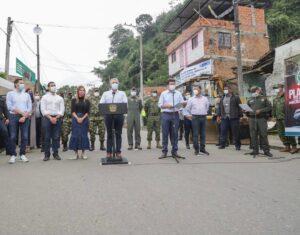Presidente Duque lideró demolición de viviendas dedicadas al expendio de drogas en Ibagué 1