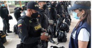 Desalojan cerca de 40 familias en Mariquita Tolima por invadir bien de propiedad de la Nación. 1