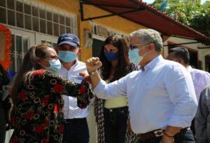 Presidente Duque ratificó compromiso del Gobierno Nacional con los proyectos estratégicos de Ibagué 1