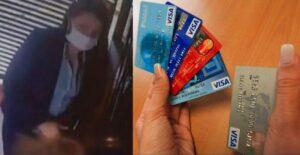 """Mujer fue detenida por """"cambiazo"""" en tarjetas de crédito 1"""