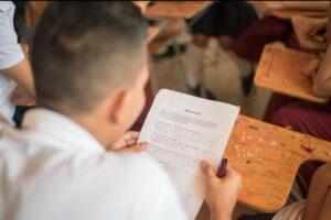 Se posesionaron estudiantes elegidos en gobiernos escolares. 1