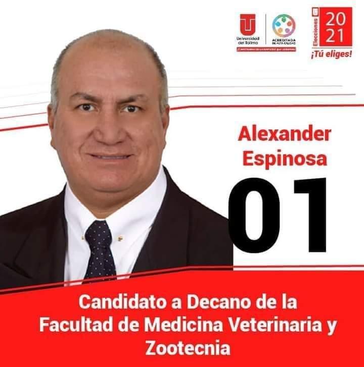 Alexander Espinosa Triana: un académico preparado para ser decano | A La Luz Pública, Principal Medio de Comunicación Digital en Ibagué 2