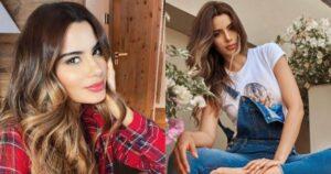 Ariadna Gutiérrez se vio vulgar por el vestido que usó en los Latin AMAs 1