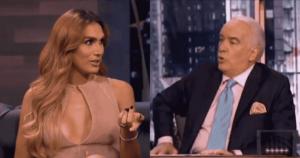 José Gabriel criticado por faltarle al respeto a actriz trans 1
