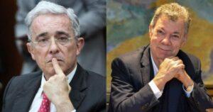 Juan Manuel Santos usó 'sticker' de Uribe en grupo de WhatsApp 1
