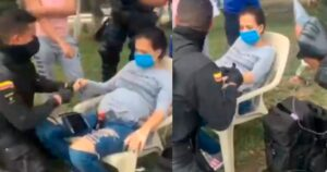 ESMAD atendió a mujer embarazada durante las manifestaciones 1