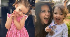 Macarena la hija de Maleja enterneció al usar aretes 1