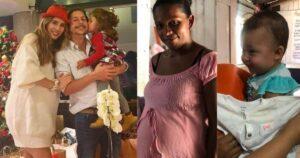 Mari Manotas mostró que hace con la ropa que dejan sus hijos 1