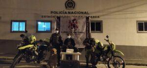 Mujer fue detenida con 8.300 dosis de marihuana en Cajamarca 1