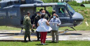Policía y Fuerza Aérea, unidos en el transporte de vacunas contra el Covid en el Tolima 1