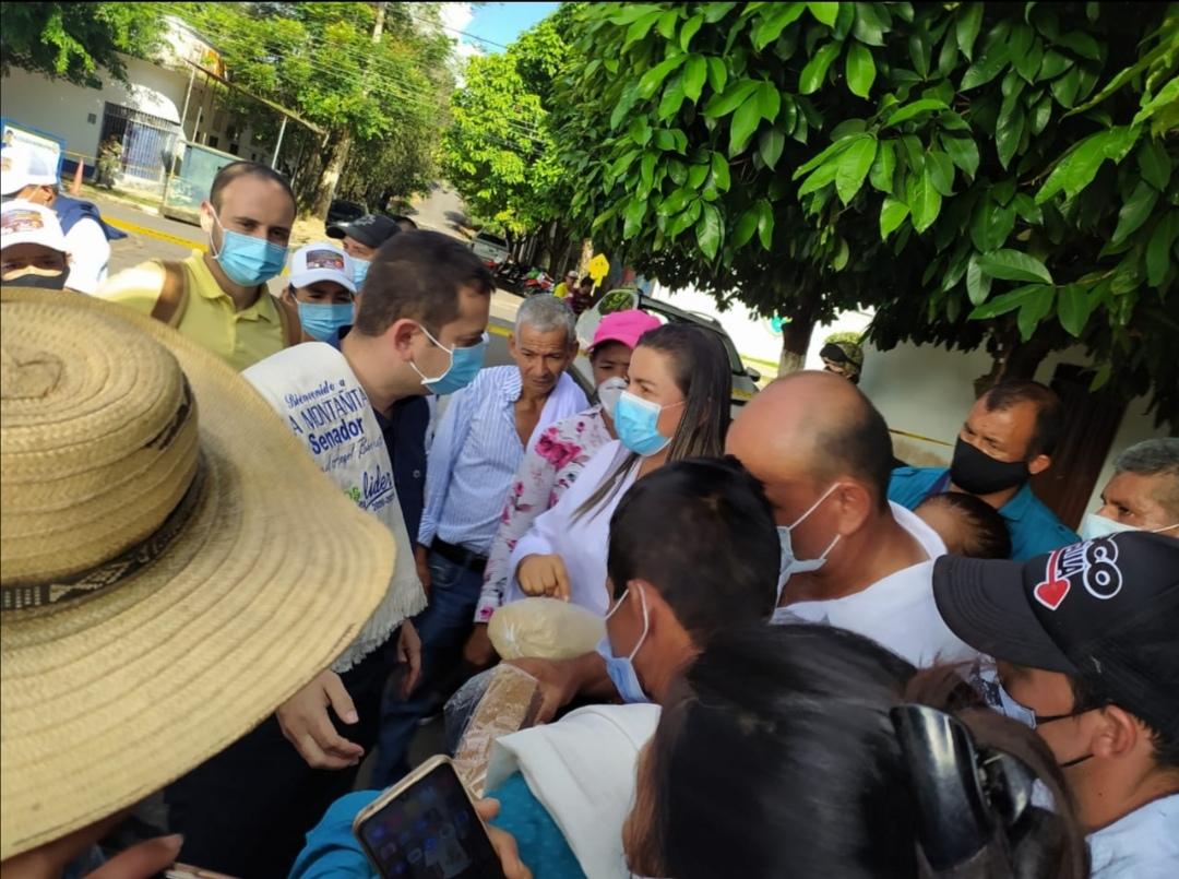 Senador Miguel Barreto llegó a Caquetá 2