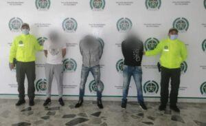 Autoridades desarticularon dos bandas delincuenciales 1