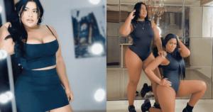 Yirlhe León meneo sus voluptuosas pompas en pijama 1