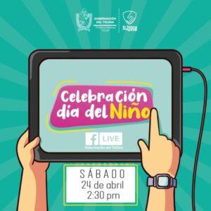 Gobernación del Tolima celebra en familia el día de la Niñez. 1