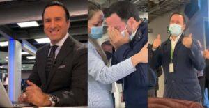 Felipe Arias agradeció con lágrimas el regreso a RCN 1