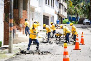 Así avanzan las obras de mejoramiento vial en el centro de Ibagué 1